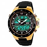 SKMEI 1016 New Sports Watch Silicone 50M Waterproof Light Digital