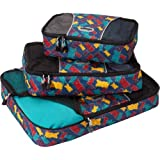 eBags Packing Cubes - 3pc Set (Snack Time)