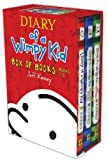 Diary of a Wimpy Kid Box of Books, Books 1-3: Diary of a Wimpy Kid/Rodrick Rules/The Last Straw Jeff Kinney