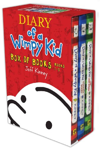 Diary of a Wimpy Kid Box of Books 1-3