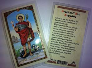 Holy Prayer Cards For the Prayer to Saint Expedito in Spanish with FREE shipping in the US and it39s