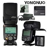 YONGNUO YN720 Flash Lithium Ion Battery Portable for Nikon Canon Olympus Sony Fujifilm Cameras USA Model With Flash Diffuser