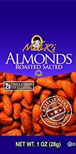Madi Ks Roasted And Salted Almonds 1-ounce Bags Pack Of 48 by Madi K's