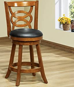 Amazon Com Monarch Specialties Solid Wood High Swivel