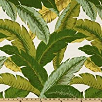 Shower Curtain for Bath Cloth Fabric Shower Curtains 72 inches by 72 inches Leaves Lime Tommy Bahama