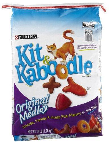 Detail image Kit 'N Kaboodle Original Medley - 16 lb