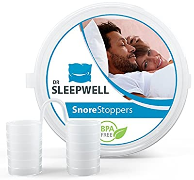 Best Stop Snoring Solution - Anti Snore Devices - Aids for Sleep Apnea Relief - Snore Stoppers - Breathe and Sleep Better - Most Comfortable & Least Visibile - 100% Satisfaction Guarantee
