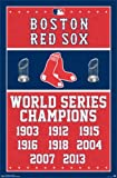Trends Intl. Boston Red Sox Champions 14 Poster, 24-Inch by 36-Inch