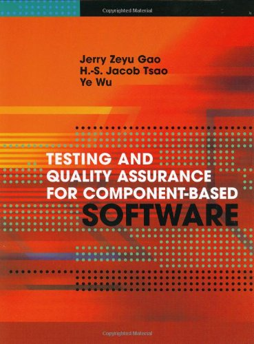 Testing and Quality Assurance for Component-Based Software (Artech House Computer Library)