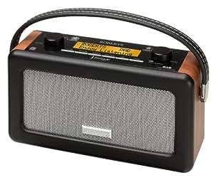 Roberts R250 - Radio Vintage FM/MW/LW - Caisson Bois Haute Densité - Finitions Simili Cuir - Cerise Pastel