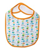 Zutano Unisex-baby Infant Fishies Bib