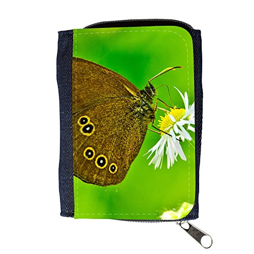 Cartera unisex // V00003062 farfalla close up // Purse Wallet
