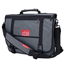 Hot Sale Manhattan Portage Wallstreeter Messenger Bag (Grey)
