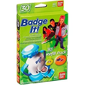 Bandai Badge It! 30 Badge Sets Refill Pack