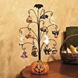 Halloween Pumpkin Tree with Ornaments - Decorative Accessories