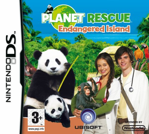 Planet Rescue:Endangered Island  (Nintendo DS)