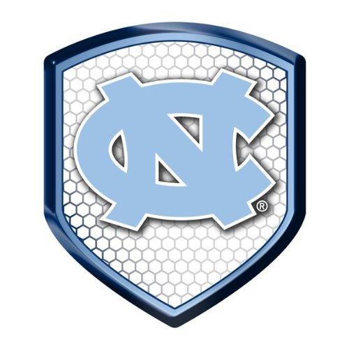 ncaa-north-carolina-tar-heels-team-shield-automobile-reflector