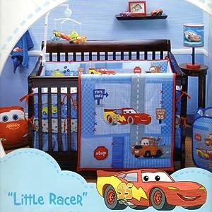 Amazon.com : Disney Baby Cars Little Racer 4-piece Crib ...
