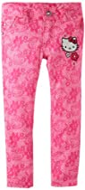 Hello Kitty Girls 2-6X Pink Pant, Cerise, 2T