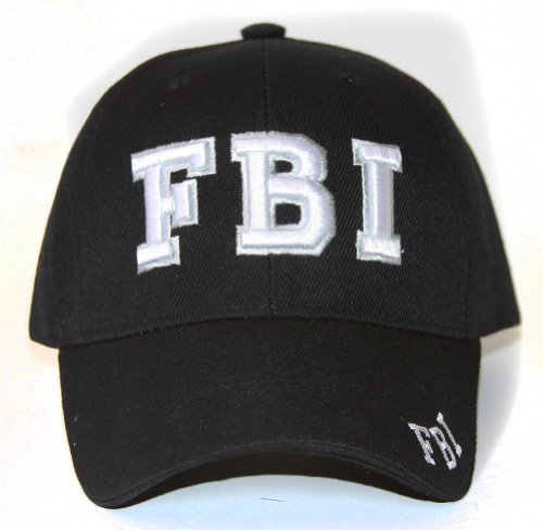 Law Enforcement Hat Adjustable - Fbi