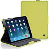 CaseCrown Ace Flip Case (Green) for Apple iPad mini 7 Inch Tablet (Built-in magnet for sleep / wake feature)