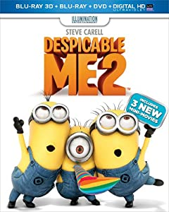 Despicable Me 2 (Blu-ray 3D + Blu-ray + DVD + Digital HD UltraViolet) by Universal Studios