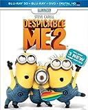 Despicable Me 2 (Blu-ray 3D + Blu-ray + DVD + Digital HD UltraViolet)