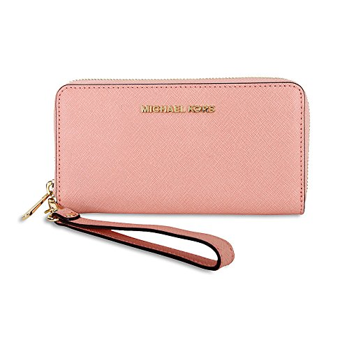 michael-kors-specchio-jet-set-travel-large-flat-multifunction-wallet-pale-pink-gold