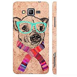Samsung Galaxy Grand prime Geeky Dog designer mobile hard shell case by Enthopia