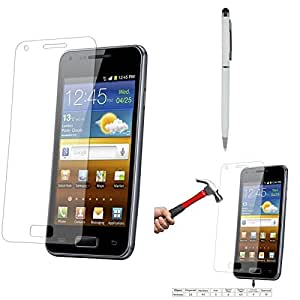 Qualitas Pack of 2 Tempered Glass for Micromax Canvas Selfie Lens Q345 + Pen Stylus