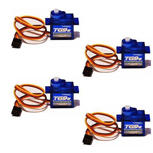 4x-Turnigy-Eco-Micro-Servo-TG9e-9g-15kg-010sec-T-Rex-HK-CopterX-450
