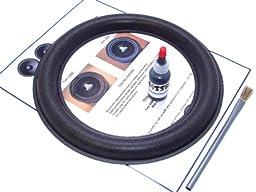 JL Audio 10W6v2 Speaker Foam Surround Repair Kit - 10 Inch