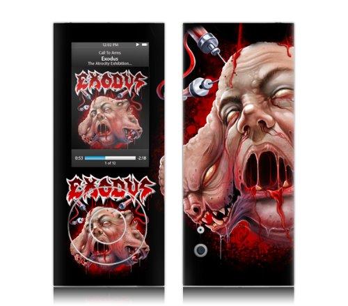 MusicSkins - Pellicola protettiva per Apple iPod nano (4a generazione), motivo: Exodus, Atrocities