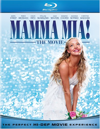 51 Kz6bvE0L Mamma Mia! The Movie (Blu ray + Digital Copy)