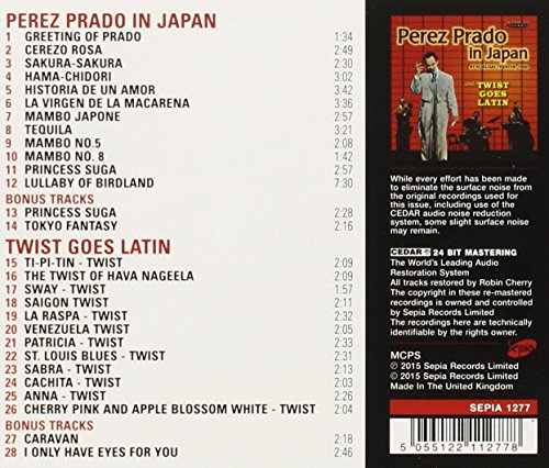 Perez Prado In Japan / Twist Goes Latin Perez Prado Spa