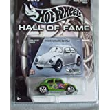 Hot Wheels Hall Of Fame Greatest Rides Volkswagen Beetle 1:64 Scale Collectible Die Cast Car