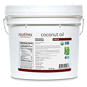 Organic Extra Virgin Coconut Oil - 1 Gallon - Liquid
