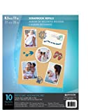 Pinnacle Frames 8-1/2-Inch by 11-Inch Refill Cardstock, 10-Pack