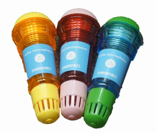 Well Designed And Manufactured By Gymboree - Gymboree Echo Microphone, Assorted Colors