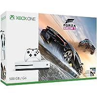 Microsoft Xbox One S 500GB Console with Forza Horizon 3 Bundle + 3 Free Games
