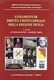 img - for Lineamenti di diritto costituzionale della regione Sicilia book / textbook / text book