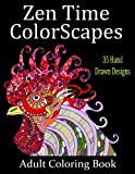Download Zen Time Colorscapes: Adult Coloring for Stress Relief and Relaxation (Volume 1)