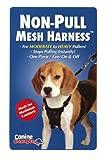11102 Canine Concepts Medium Black Mesh Non-pull Dog Harness