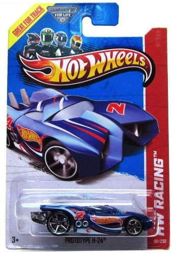 2013 Hot Wheels Hw Racing Treasure Hunt - Prototype H-24