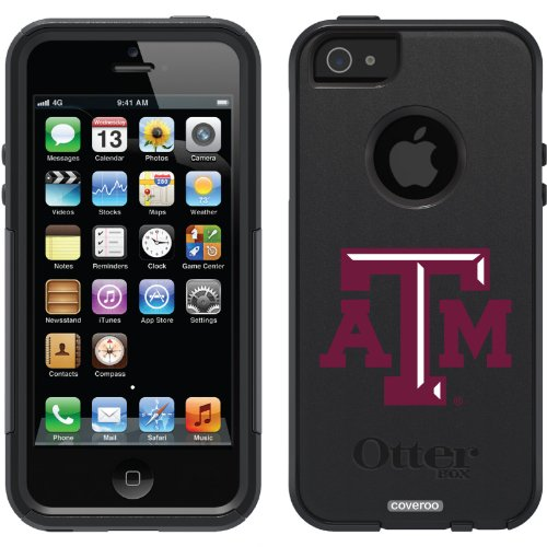 Best Price Texas A&M University ATM design on a Black OtterBox® Commuter Series® Case for iPhone 5s / 5