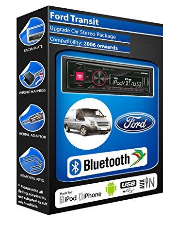 Ford Transit Alpine UTE 72BT-kit mains libres Bluetooth de voiture pour autoradio stéréo