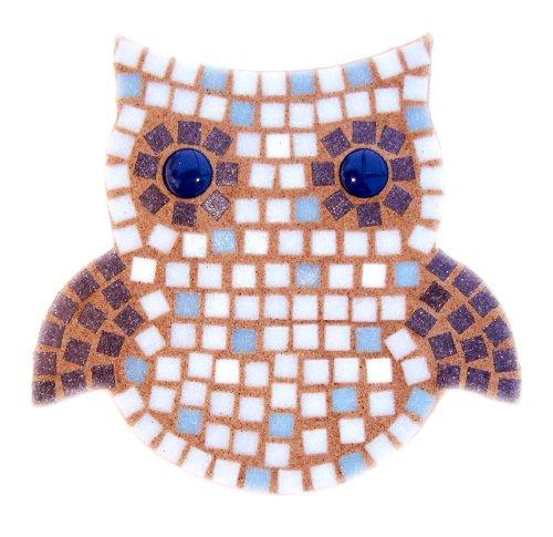 Snowy Owl Mosaic Craft Kit