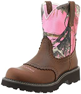 Ariat Women's Fatbaby Equestrian Boot,Tanned Copper,7.5 M US