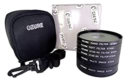 Ozure Video Filter Kit (Set Of Six) Special Effects Filter(67 mm)