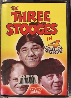 The Three Stooges 4 Hilarious Episodes